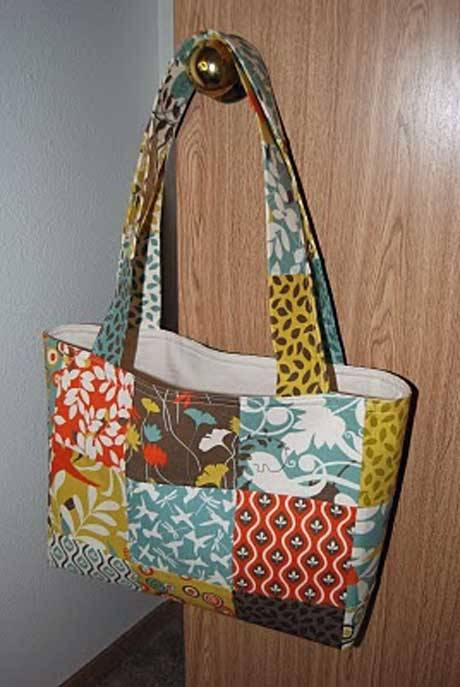 Patchwork Shoulder Bag - Free Sewing Tutorial