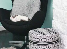 Drum Floor Pouf – Free Sewing Tutorial