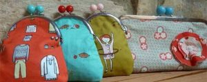 Pretty Little Framed Coin Purses – Free Sewing Tutorial