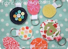 Scrap Key Chain – Free Sewing Tutorial