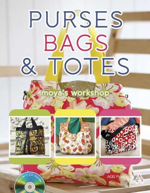 Whip up fun, fashionable bags, purses, and totes in no time at all.