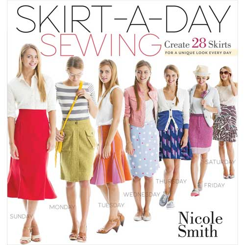 Design a skirt for every day of the week with these 28 irresistible skirt projects