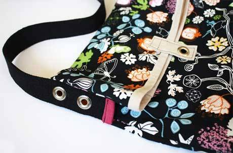 Fold Over Bag - Free Sewing Tutorial