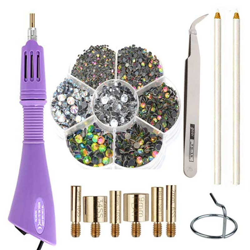 Rhinestone Applicator Tool Kit